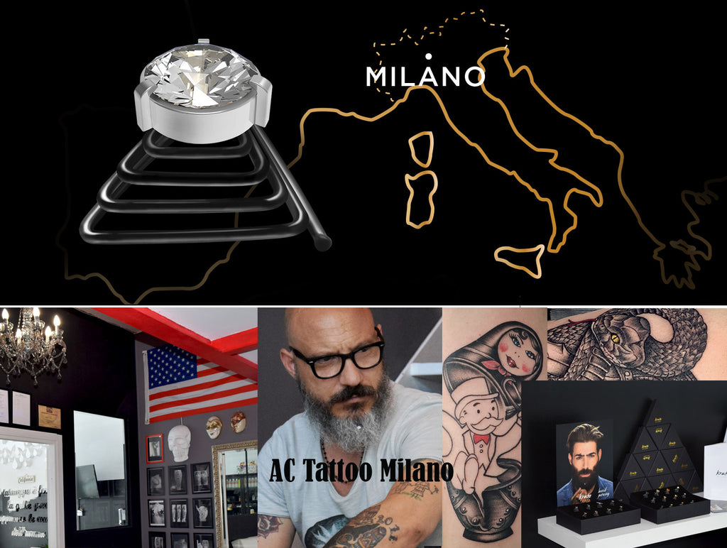 AC Tattoo – Krato's new retail partner in Milan
