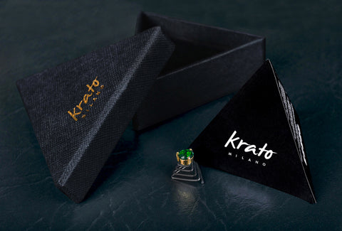 Krato Milano classy crystals for the beard