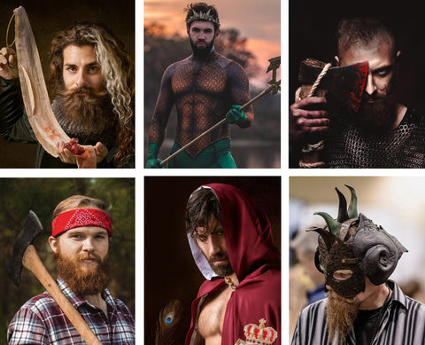 Halloween costume ideas for bearded men