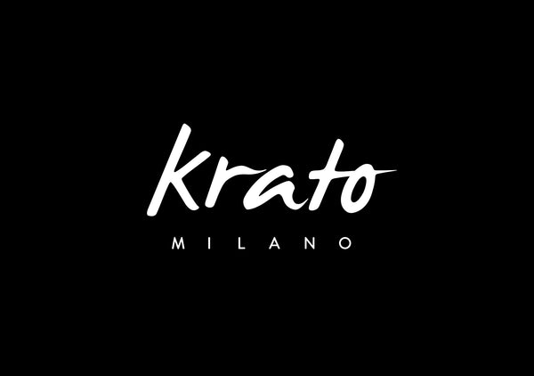 Men's beard t-shirt Krato Milano logo