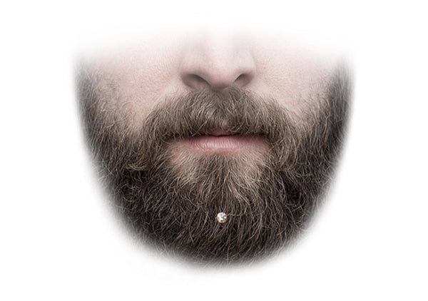 beard crystal jewelry the best hair ornament for short beard