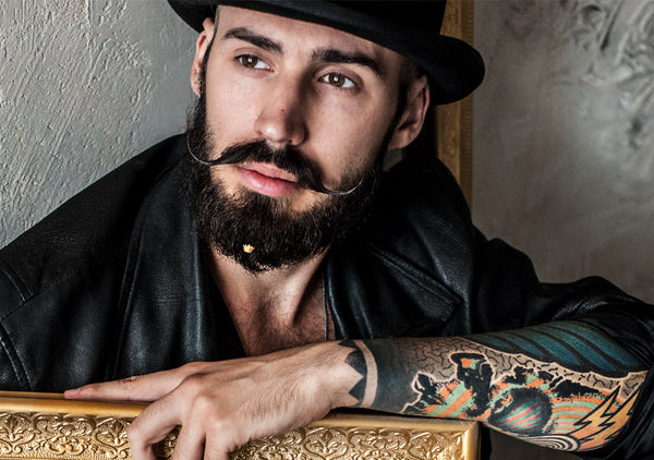 best beard styling for a king who wears crown by new Italian brand Krato Milano