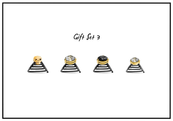 Gold Gift Set - 4 jewels