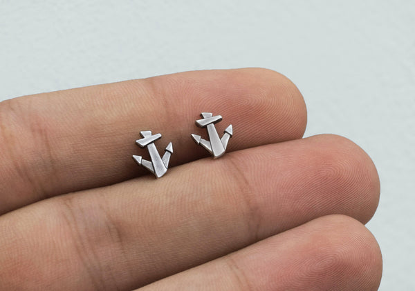 LUCKY ANCHOR men's earrings
