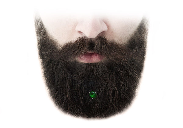 Emerald Gold Beard Crystal