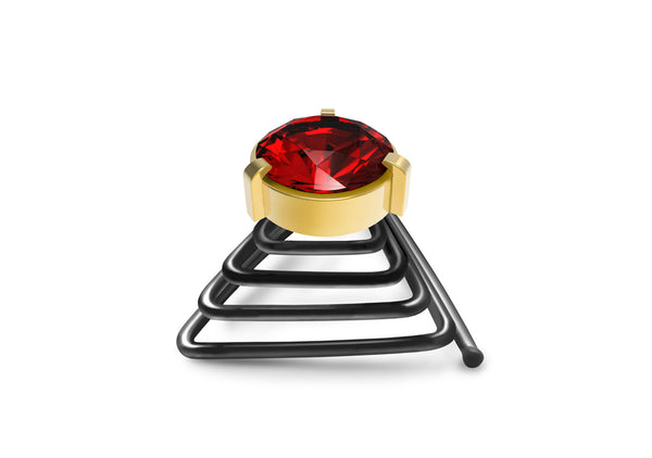Ruby Golden Beard Crystal