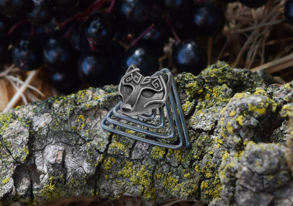 Viking Wolf Beard Jewelry