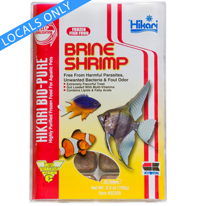 (Locals Only) Hikari Brine Shrimp (Frozen Food)(100g)
