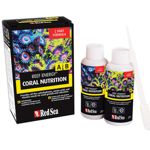 Red Sea Reef Energy Coral Nutrition A & B 100mL - Intro Pack