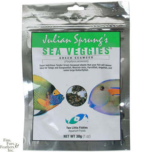 Two Little Fishies Julian Sprungs Sea Veggies Green Seaweed - 30g/1oz