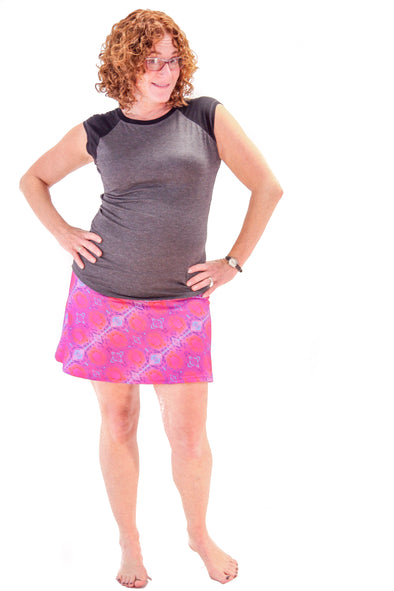 Slope Skort | Stellar Lunar - Kind Apparel