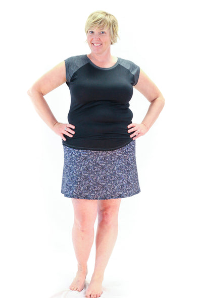 Slope Skort | 50 Shades - Kind Apparel