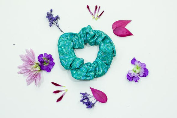Scree Scrunchie | River - Kind Apparel