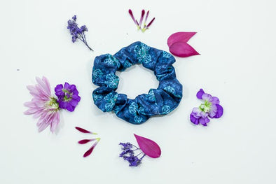 Scree Scrunchie | Blue Jean Baby - Kind Apparel