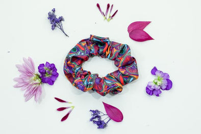 Scree Scrunchie | Passion Fruit - Kind Apparel