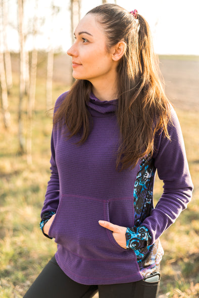 Glacier Hoodie | Purple - Kind Apparel