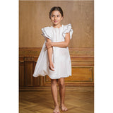 AMIKI VALERIE IVORY NIGHTWEAR DRESS