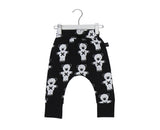 HUXBABY SOLDIER BEARS DROP CROP PANTS | BLACK