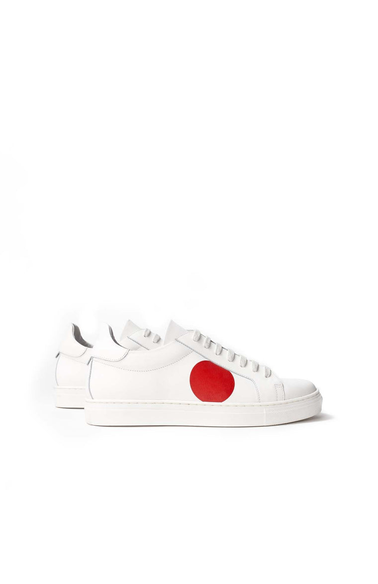 Loreak - Shoes Dot Leather White