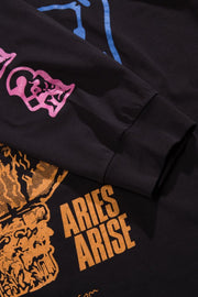 T-shirts-Aries Arise - French Monster LS tee - UNISEXE-