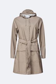 Rains - Belt Jacket Taupe-Vestes et Manteaux-1824