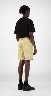 Daily Paper - Klevon 56 Yellow Check-Pantalons et Shorts-