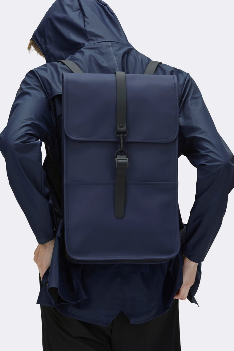 Rains - Backpack Blue – Sac à Dos Imperméable Bleu - ADG Studio