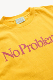 T-shirts-ARIES ARISE - T-shirt No Problemo yellow - UNISEXE-