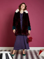 Vestes et Manteaux-Sister Jane - Mabel Coloublock Fur Coat-
