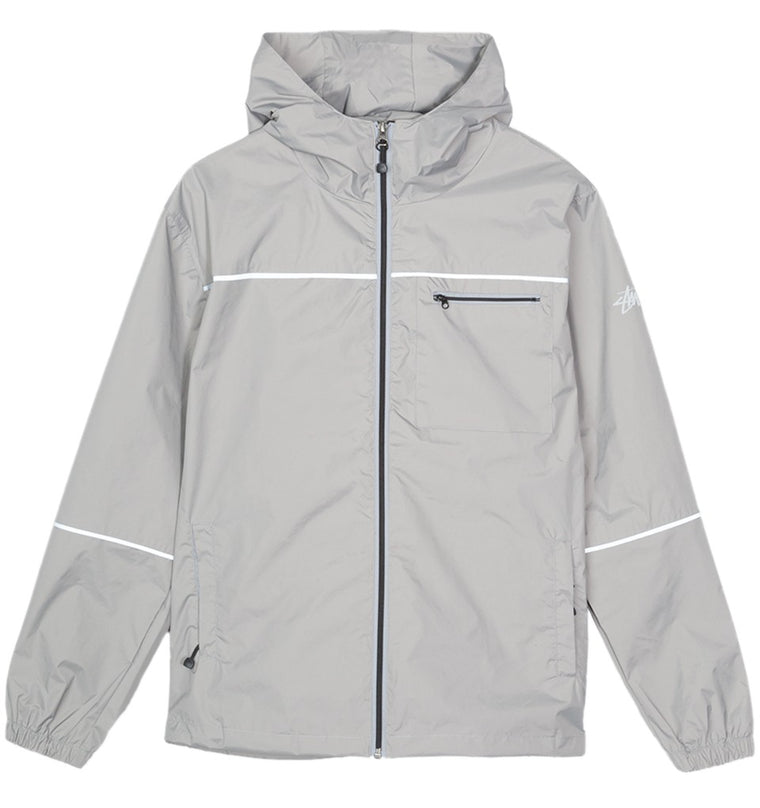 Stussy - 3M Nylon Jacket - Veste imperméable grise