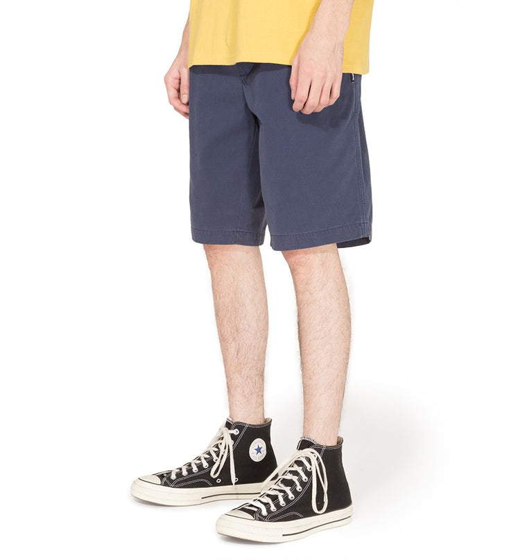 Stussy - Brushed Beach Short - Short bleu marine - ADG Studio