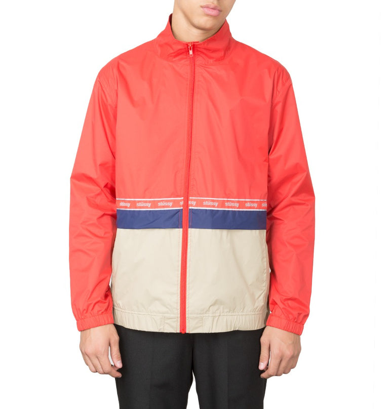 Stussy - Nylon Warm up Jacket - Veste imperméable