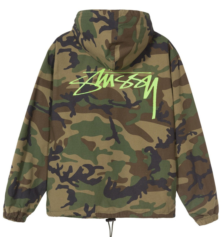 Stussy - Ripstop Pullover - Camo