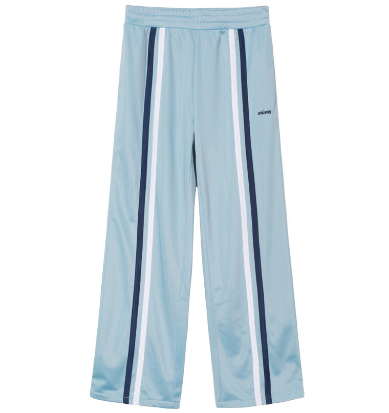 Stussy - Rory Striped Track Pant - Bleu clair