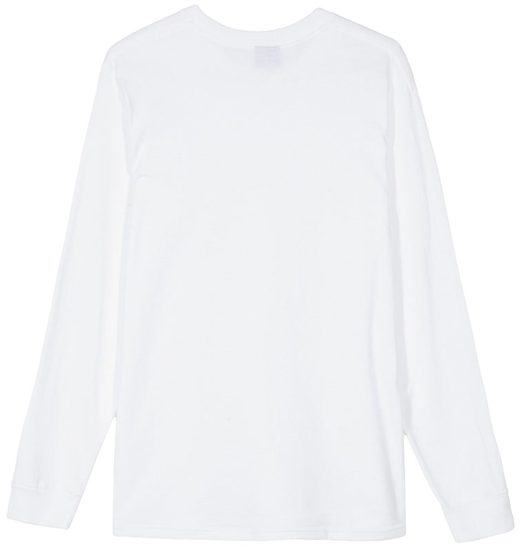 Stussy - Smooth Stock Ls Tee - White - ADG Studio