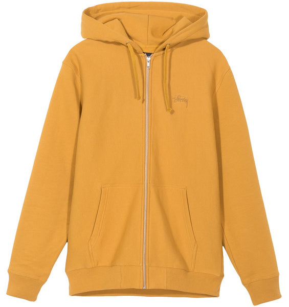 Stussy - Stock Logo Zip Hood - Sweat zip à capuche - ADG Studio