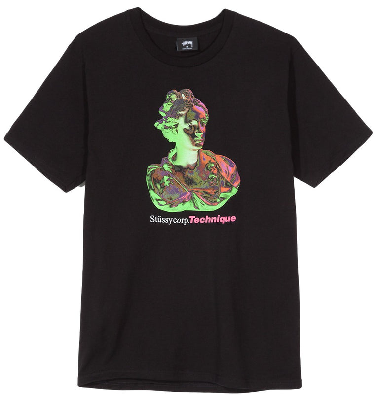 Stussy - Technique Tee - Black