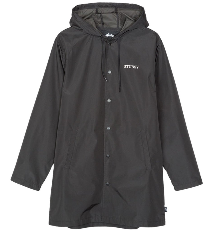 Stussy - Tony Long Hooded Coach Jacket - Veste Imperméable longue
