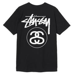 T-shirts-Stussy - Stock Link Tee Black-