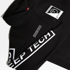 Pulls et Sweats-The North Face - M STEEP TECH LOGO HOODIE TNF Black