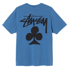 STUSSY - CLUB PIG. DYED TEE BLUE-T-shirts-1904670
