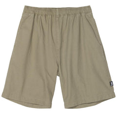 Pantalons et Shorts-Stussy - Brushed Beach Short Olive-