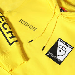Pulls et Sweats-The North Face - M STEEP TECH LOGO HOODIE TNF Yellow