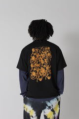 Aries Arise - Noodles SS Tee Black - Unisexe