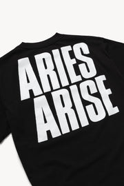 Aries Arise - They Live SS Tee Black - Unisexe-T-shirts-SRAR60006