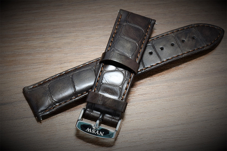 Italian leather band