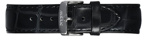 Black Italian Leather Band - NYSW