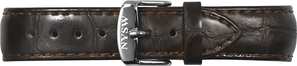 Brown Italian Leather Band - NYSW