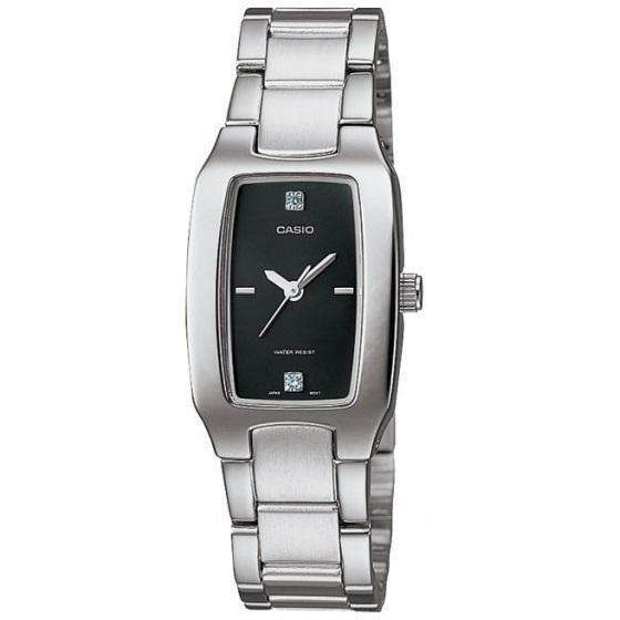 Casio Vintage LTP-1165A-1C2DF Silver Stainless Watch for Women