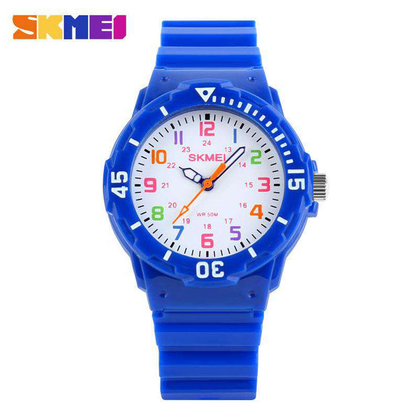 SKMEI 1043C Dark Blue Unisex Kids Watch